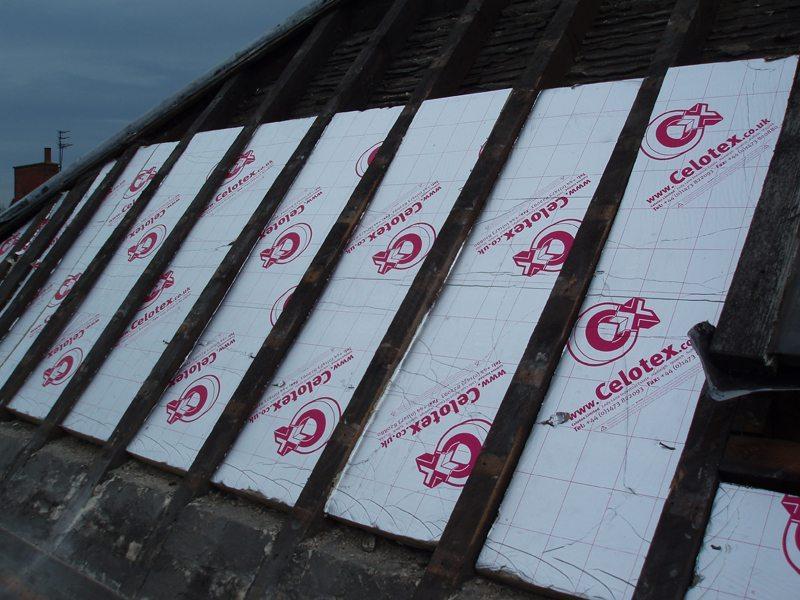 Insulation Trevor Wyatt Roofing